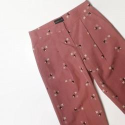 spodnie rozowe Armani