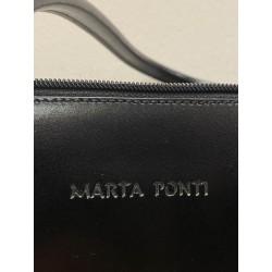 Skórzana torebka Marta Ponti