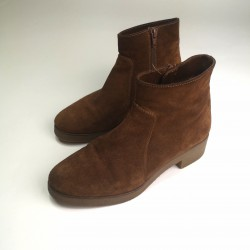 OLA buty zamszowe