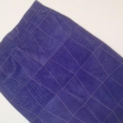 fioletowa spodnica
