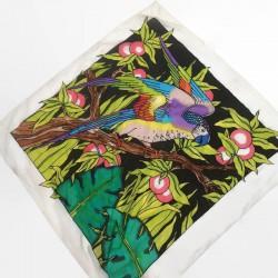 Apaszka rajski ptak jedwab